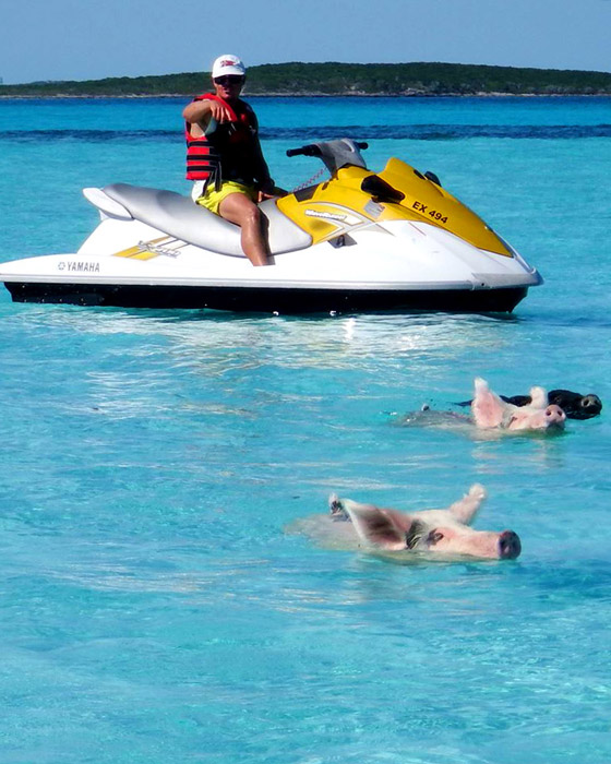 Waverunner Tour - Exuma Water Sports - exumawatersports.com